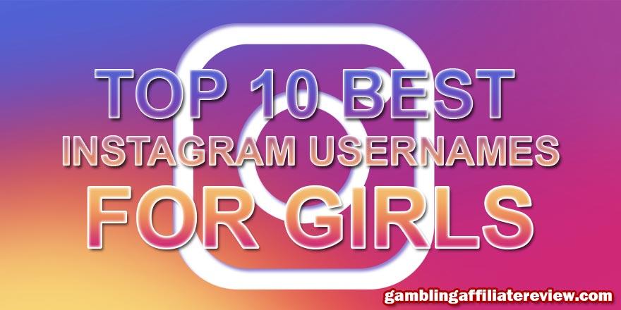 best instagram names for girls