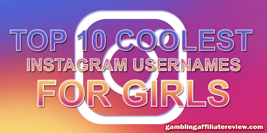 coolest instagram names for girls