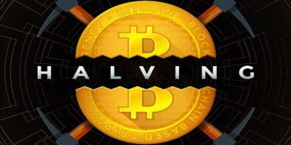 bitcoin halving logo