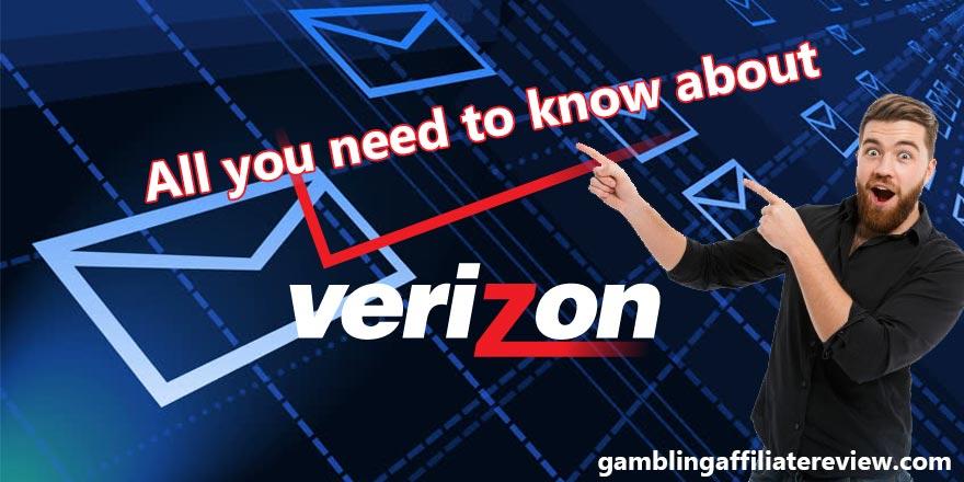Verizon email banner