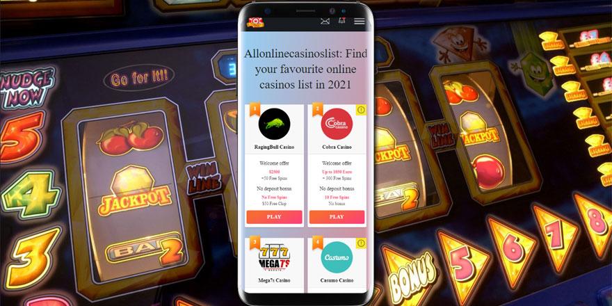 Allonliecasinolist best casino